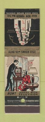 Matchbook Cover - Hotel New Yorker New York City