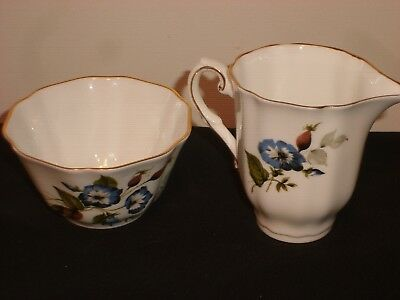 Royal Grafton Fine Bone China Creamer & Open Sugar Bowl, Made in England