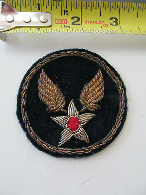 Original WW 2 Bullion USAAF Patch GOLD AND SILVER REALLY NICE