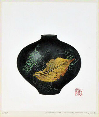 Collection-40 by Haku Maki Japanese Woodblock Print Limited Edition Signed