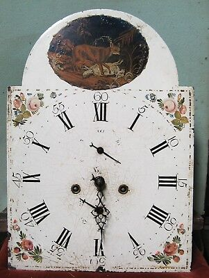 A Good  8 Day Longcase Dial & Movement - Circa 1790.