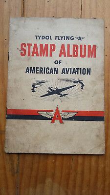 Tydol Flying A Stamp Album of American Aviation, 1940, complete