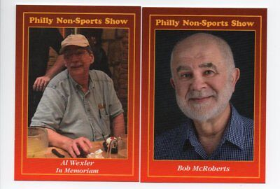 Red Border #102 #103 Promo Cards Philly Non Sports Card Show Lot