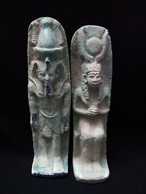 Ancient Egyptian statue of ISIS And Tutankhamun (1332–1323 BC) ( ( 323–30 BCE)