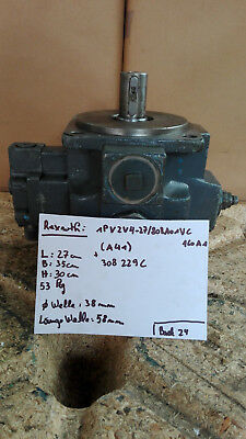 Rexroth Vane Pump / Type: 1pv2v4-27/ 80ra01vc160a1/ Good Condition