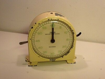 Vintage Smiths English Clock Systems Interval /Darkroom Timer