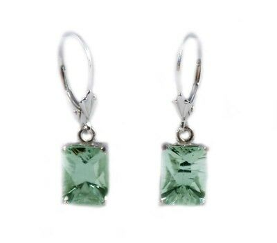 19thC Antique Poland Green Amethyst SS Earrings Ancient Roman Warrior Amulet