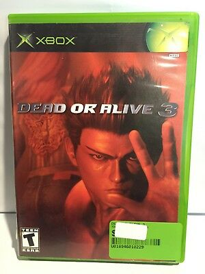 Dead or Alive 3 (Microsoft Xbox, 2001) Tested & Working