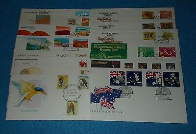 Australia / Aat / Christmas Island Stamp First Day Covers  - Select Cover