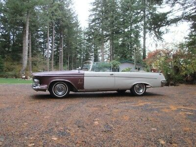 1962 Chrysler Imperial  1962 Chrysler Imperial Crown Convertible