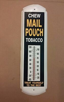 Mail Pouch Tobacco Thermometer Good Condition