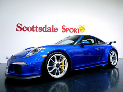 2015 Porsche 911 GT3 * ONLY 2,280 Miles...Beautiful!! 2015 PORSCHE GT3 * ONLY 2K MILES, SAPPHIRE BLU, CERAMIC BRAKES, FULL 3M, WOW!!
