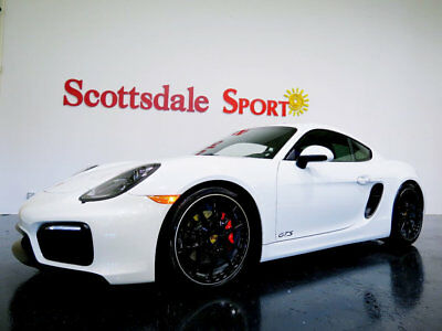 2016 Porsche CAYMAN  GTS * ONLY 9K Miles...6sp Manual 16 CAYMAN GTS 6sp MANUAL * 9K Mi, SPRT EXHST, ADP SPRT SEATS, SPRTCHRNO, LOADED