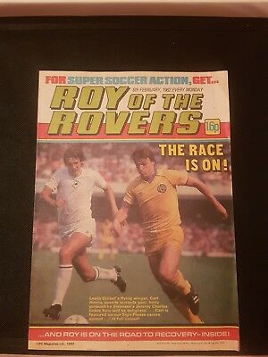 Roy Of The Rovers Comic 6Th February 1982 Sign Please - Carl Harris