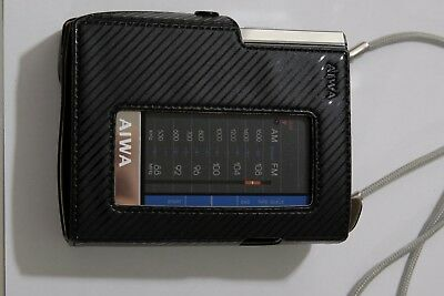 AIWA HS-P06 Cassette Player with TU-01 tuner pack, Works