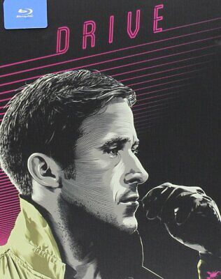 DRIVE Out-of-Print STEELBOOK & Baby Driver Blu-ray+Slip Cover, No Digital