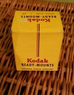 Eastman Kodak Ready Mounts for 35mm Slides w/Instructions  (43 remain out of 50)