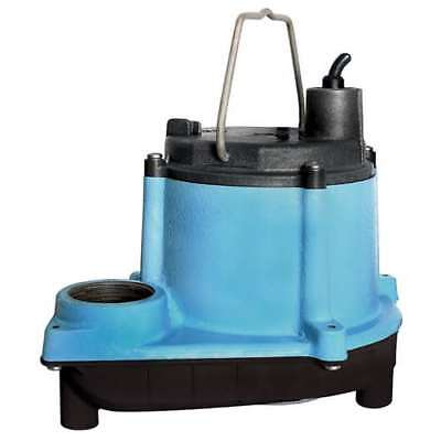 Little Giant 6 Series 1/3 HP Integral Diaphragm Submersible Sump Pump (Open Box)