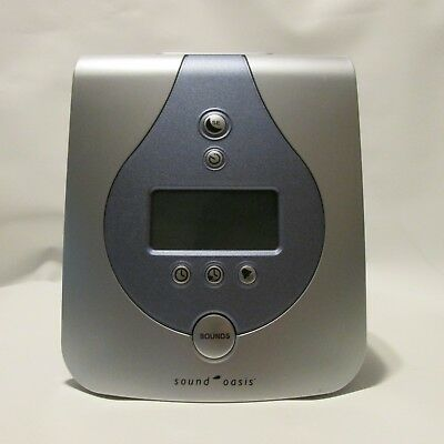 Sound Oasis Sleep Sound Therapy System S-650-02 -FB008-