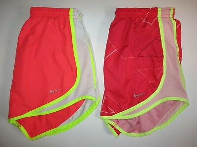 Nike Dri-Fit Tempo Lined Running Shorts Women's sz S 2 Pairs