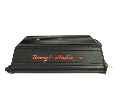 14-18 OEM Harley CVO Boom Audio Speaker Amplifier Amp 76000277A 75W x 4