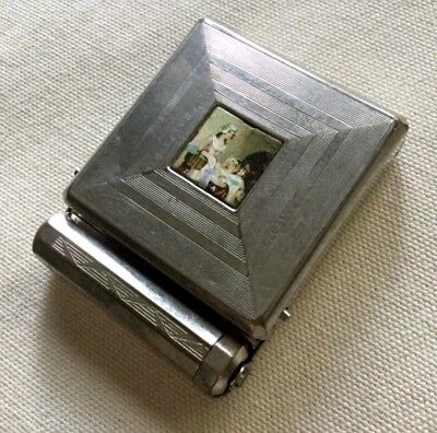 Nice Vintage 3 in 1 Yardley Compact Powder, Rouge & Lipstick