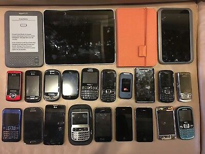 Electronics APPLE Samsung Kindle Nook LG Phones LOT REPAIR Parts