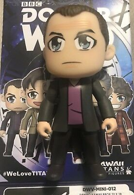 Titans BBC Doctor Who 13 Doctors Kawaii Vinyl 9th Ninth Doctor DR 1/18 Mini