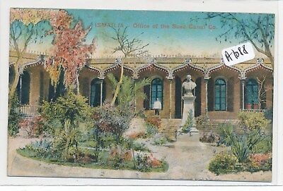 CPA -A1088 - Egypte - Ismailia - Office of the  Canal Co