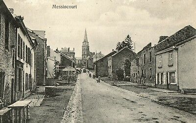 Carte postale Messincourt Feldpost