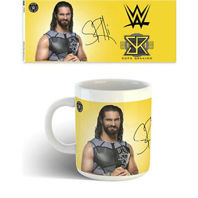WWE - Seth Rollins Mug x 2 BRAND NEW (Set of 2 Mugs)
