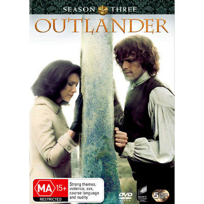 Outlander: Season 3 DVD NEW (Region 4 Australia)