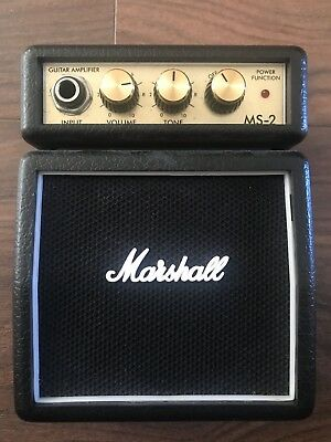 Marshall Ms-2  Min Amp With Lead