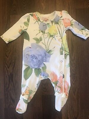 Yes baker baby girl Newborn Floral Grow Excellent Condition