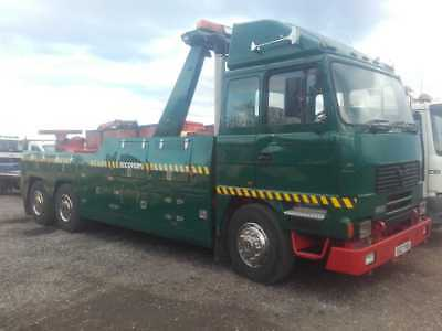 Foden Heavy Recovery Truck