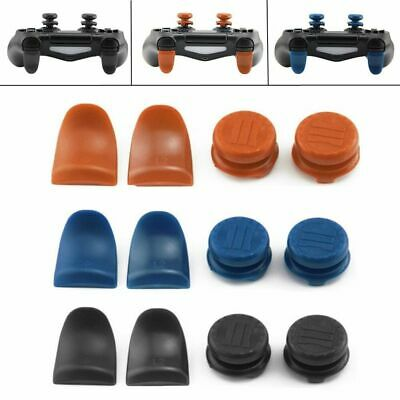 4pcs Division PS4 Thumb Grips Analog Sticks Extender PS4 Xbox 360 Controller