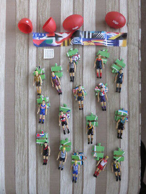 AFL Fun Footys Player Figures/Jigsaw Pieces – Full Set Of 16