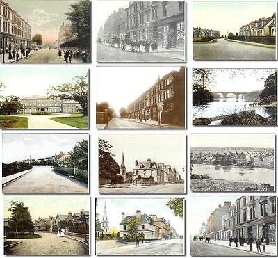 Uddingston postcards (near Bothwell) Beautiful selection of 12 reproduced images
