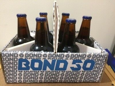 BOND 50 BEER by Swan Brewery, 6 PACKS x 2. Brand New, never opened.VERY RARE