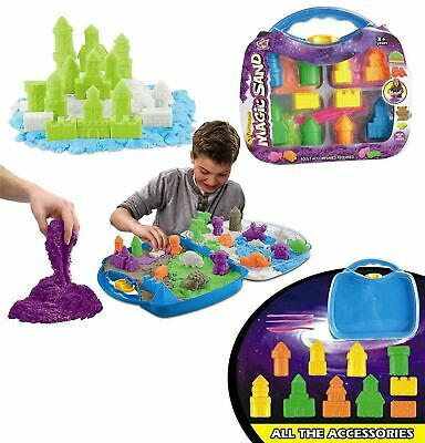 Sand and Water Table Garden Sandpit Toy Watering Can Figures Kids Children