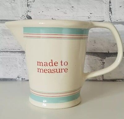 LAURA ASHLEY Made to Measure Measuring Jug Kitchen Rustic Farmhouse Shabby Chic