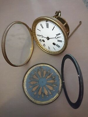 Antique Striking 8 Day French Mantle Clock Movement Spares Or Repair