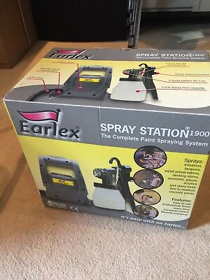 Earlex Paint Spray Station DIY Never Used Cheap