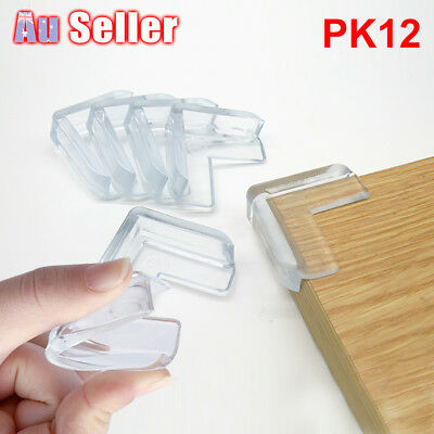 12pcs Baby Child Safety Guard Table Corner Cushion Desk Edge Soft Protectors