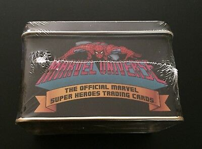 Marvel Universe Series 1 Factory Sealed Tin Set - Numbered 2680/4000