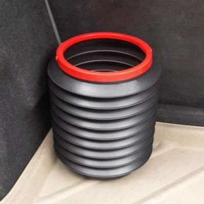 Collapsible Bucket 4L Car Folding Bin Portable Outdoor Storage Container Travel