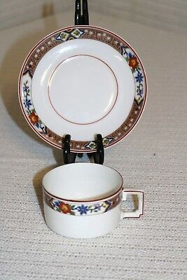 """H & Co Heinrich HC237 Imperial Selb Bavaria 3 1/4""""d Coffee Cup & 5 3/4"""" Saucer"""