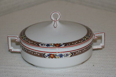 H & Co Heinrich HC237 Imperial Selb Bavaria Round Covered Vegetable Serving Bowl