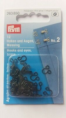 per pack of 25 Prym Curtain Hooks Gliders with Plug White 526320