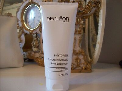 Decleor PHYTOPEEL Smooth exfoilating cream with Thyme 200ml salon size